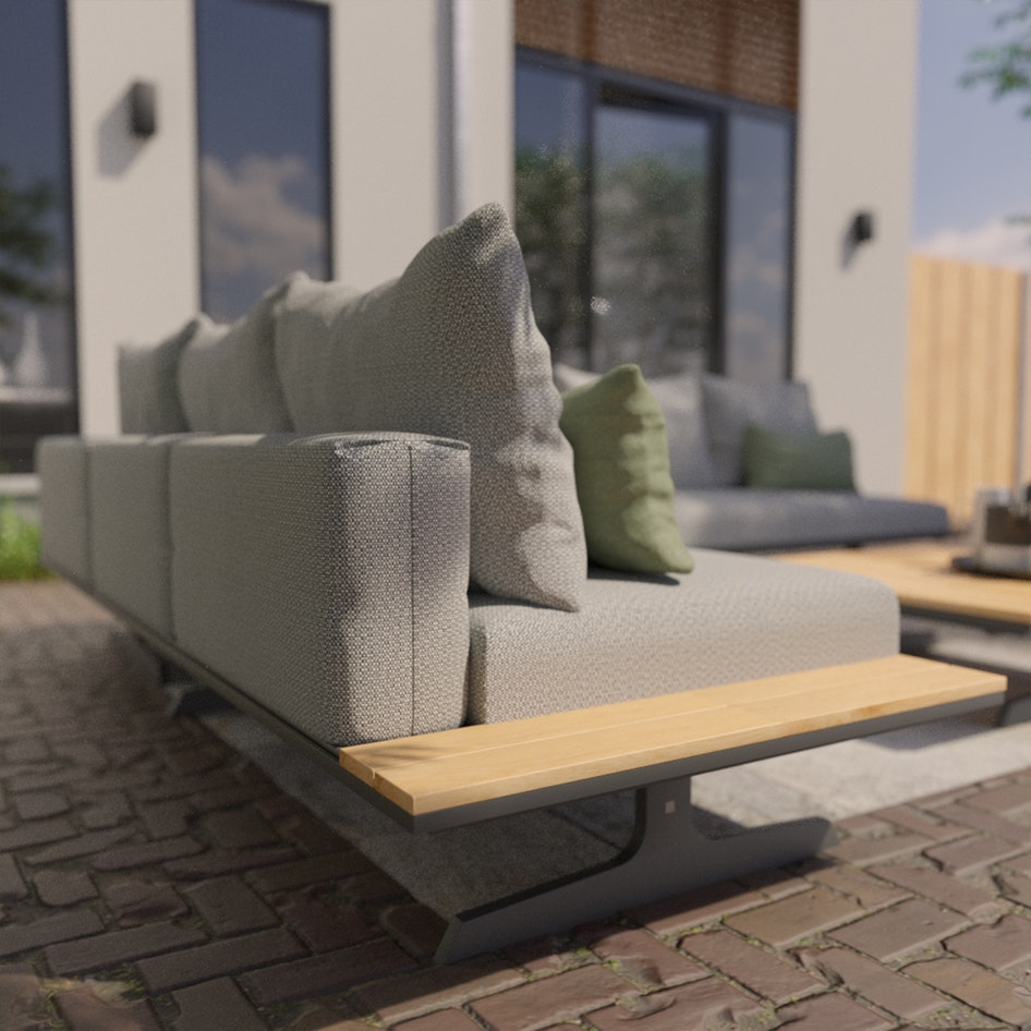 Endless loungeset 4 seasons outdoor