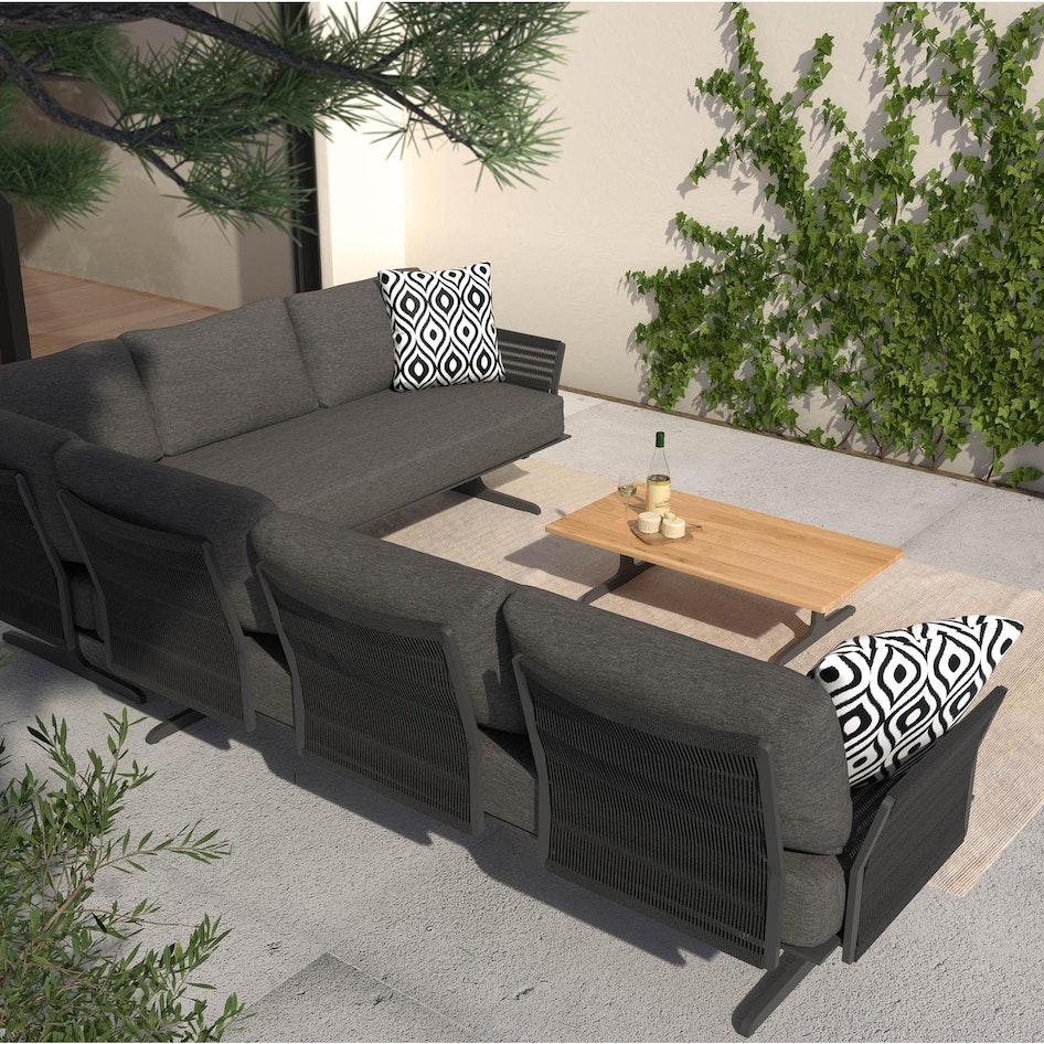 Kaya 0000 Kaya modular lounge set outdoor