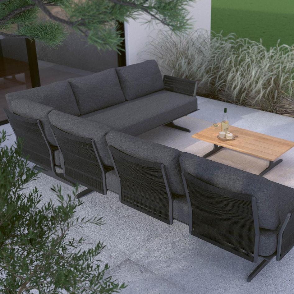 Kaya 0001 Kaya modular lounge Outdoor image