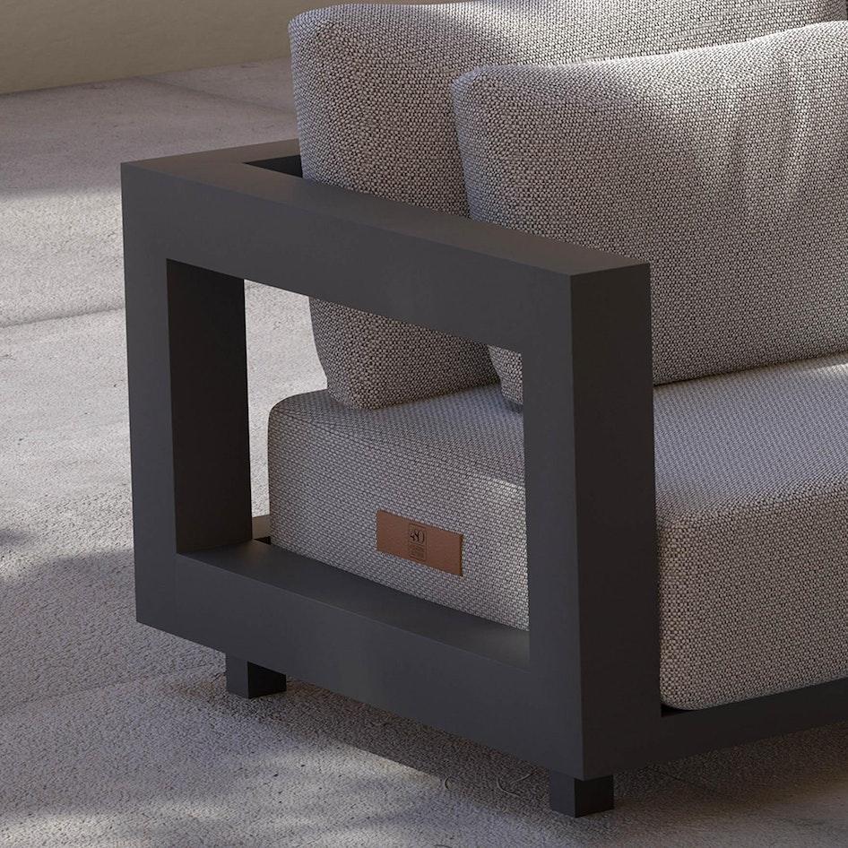 Metropolitan 0001 Metropolitan modular lounge set
