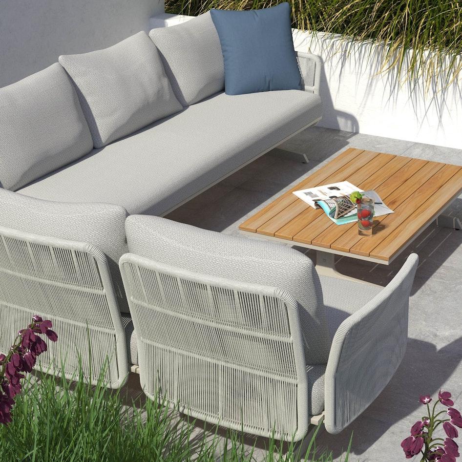 Play 0000 Play modular lounge set with Cartahgo outdoor